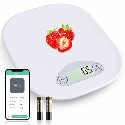 Comparing 3 bluetooth kitchen scales