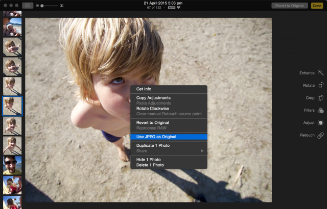 OS X 10.10.3 Photos.app Survival Guide