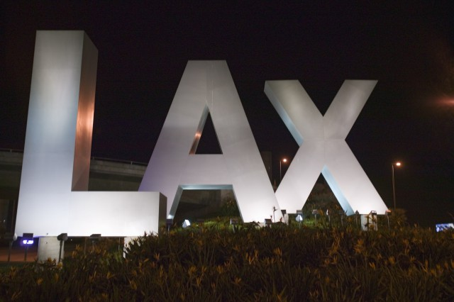 Renting a car at LAX airport