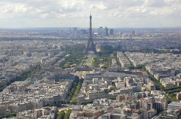 Paris skyscrapers